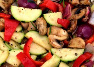 daržovės grilis