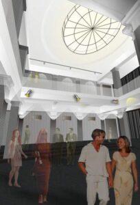 Dramos teatras. 1 Auksto vestibiulis2