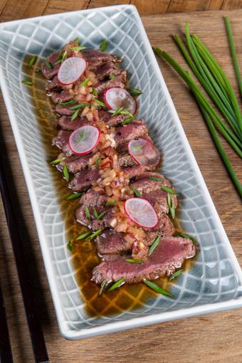 kengūrienos mėsa